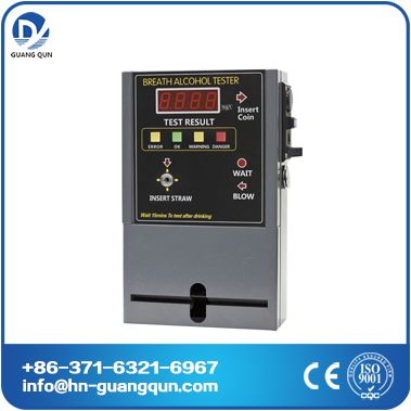 AT319 vending machine breath alcohol analyzer driving safe guangqun