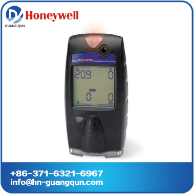 Honeywell MultiPro Multi-Gas Detector/gas monitor O2,CO, H2S,LEL with alkaline battery