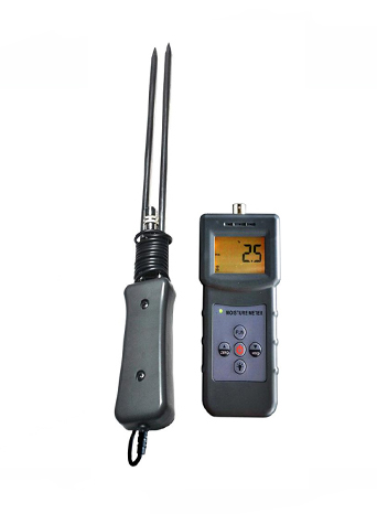 MS-G Handheld Grain Moisture Meter with Electrical Resistance Method, Automatic temperature Compensat