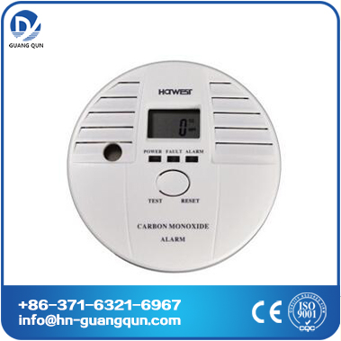 Venus carbon monoxide alarm/home alarm gas detector with backing-support
