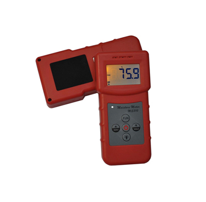 MS310 Portable Textile Moisture Meter with Material Species 20 kinds